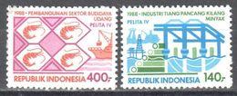 Indonesia - 1988 - Five-Year Plan - Fishing  Shrimps  MNH - Briefmarken