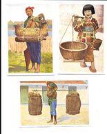 BR54 - IMAGES CIGARETTES REEMTSMA - PORTEURS - JAPON COCHINCHINE TONKIN - Cigarette Cards