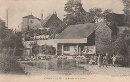 21 CESSEY-sur-TILLE Moulin Et Le Lavoir Scène Lessive , Enfants - Autres Communes