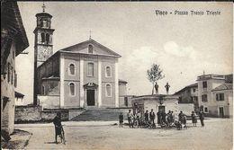 VISCO - PIAZZA TRENTO TRIESTE - Udine