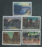 Jersey  N° 251 / 55  XX 150ème Anniversaire De L'introduction Du Gaz,  Les 5 Valeurs  Sans Charnière, TB - Jersey
