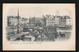 BRUXELLES  LE CANAL DE VILLEBROECK - Maritime