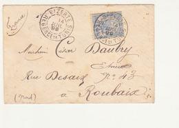 Tunisie-Marcophilie- Lettre Du 14 Juillet 1899 - Tunesien (1956-...)