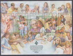 Canada BF N° 11 XX Année Internationale De La Famille, Le Bloc Sans Charnière, TB - Blocks & Sheetlets