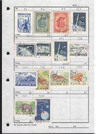 NORTH KOREA - SMALL COLLECTION OF STAMPS UNTILL Ca 1965 /T235 - Corea Del Norte