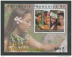 Polynésie  BF 25 XX  Les Beautés De La Polynésie Française, Le Bloc Sans Charnière, TB - Polynésie Française