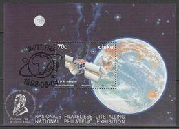 Ciskei - 1992 - International Space Year Satellite Satellites - Miniature Souvenir Sheet CTO - Ciskei
