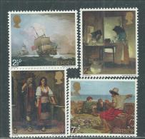 Jersey  N° 51 / 54  XX Peintures ( I ),  Les 4 Valeurs  Sans Charnière, TB - Jersey