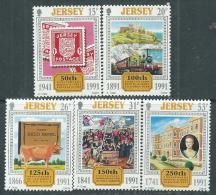 Jersey  N° 538 / 42 XX  Anniversaires,  Les 5 Valeurs Sans Charnière, TB - Jersey