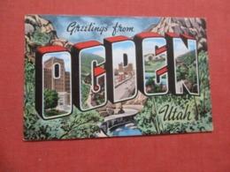 Greetings    Utah > Ogden  > Ref 4197- - Ogden