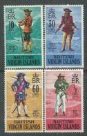 Iles Vierges N° 227 / 30  XX Pirates Des 17ème Et 18ème Siècle , Les 4 Valeurs  Sans Charnière, TB - British Virgin Islands