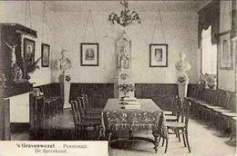 's GRAVENWEZEL - Pensionaat - De Spreekzaal - Oblitération De 1921 - Schilde