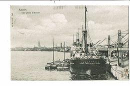 CPA- Carte Postale-Belgique-Anvers - Les Quais- En 1903 VM18584 - Antwerpen