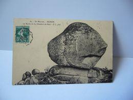 62 . EN MORVAN UCHON 71 SAONE ET LOIRE LA ROCHE DE LA CHAMBRE DU BOIS CPA 1912 AC PHOT - France