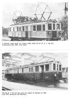 Locomotrice Montreux Oberland Bernois MOB Train - Voiture Pulmann (dépliant Double Page ~10 X 15 Cm Plié ) - Máquinas
