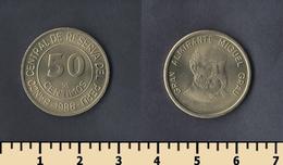 Peru 50 Centimos 1988 - Pérou