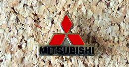 Pin's MITSUBISHI Logo Ajouré Fabricant Inconnu - Mitsubishi