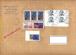 Lettre  Recommandée La Celle Sur Malraux Guyane - Marcophilie (Lettres)