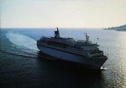 "Bateau FERRY Boat -  "" Danielle CASANOVA""  Corse  1980s - Fähren"