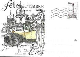 """AA 1753 Phare De DUNKERQUE Sur Lettre Illustrée """"fête Du Timbre 2019"""" TB - France"""