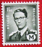 1.50Fr Koning Boudewijn Militaire Post N° M1 (Mi M 1) 1967 POSTFRIS MNH ** BELGIE BELGIUM - Military (M Stamps)