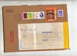 Devant De Paquet Recommandée Puyloubier Sur Lautrec Fermat - Marcophilie (Lettres)