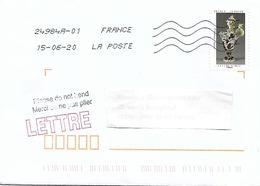 AA 1835 P. DELABARRE - AIGUIÈRE Sur Lettre Au 15-06-2020 - TB - France