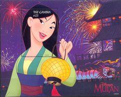 GAMBIA - MNH - CARTOONS - WALT DISNEY - MULAN - MI.NO.BL 385 - CV = 9 € - Gambie (1965-...)