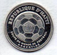 HAITI, 50 Gourdes, Silver, Year 1977, KM #127, PROOF. - Haiti