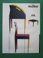 - ADVERTISING PUBBLICITA  SEDIE GIORGETTI MATRIX -- 1988 -  OTTIMO - Unclassified