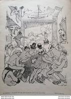 1904 MIRANDE - THÉÂTRE SUBVENTIONNÉ - Journal LE RIRE. - Vieux Papiers