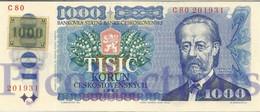CZECH REPUBLIC 1000 KORUN 1993 PICK 3a UNC - Repubblica Ceca
