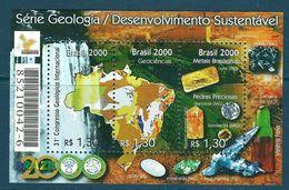 Brazil - 2000 Minerals, Gems, Geology MNH** - Lot. A355 - Minerali