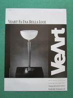 - ADVERTISING PUBBLICITA' LAMPADE VEART -- 1988 -  OTTIMO - Unclassified