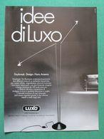 - ADVERTISING PUBBLICITA' LAMPADE LUXO  -- 1988 -  OTTIMO - Unclassified