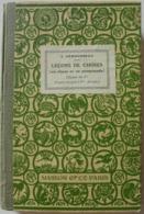 A. Démousseau - Leçons De Choses (en Classe Et En Promenade) / éd. Masson - 1931 - 6-12 Ans