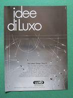 - ADVERTISING PUBBLICITA' LAMPADE IDEE DI LUXO  -- 1988 -  OTTIMO - Unclassified