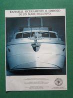 - ADVERTISING PUBBLICITA' BARCHE RAFFAELLI -- 1988 -  OTTIMO - Unclassified