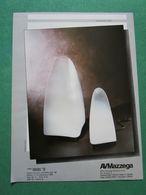- ADVERTISING PUBBLICITA'  LAMPADE AV MAZZEGA -- 1988 -  OTTIMO - Unclassified