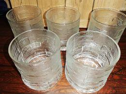 Lot De  Verres à Whisky Vintage Années 70/80 - Glasses