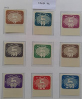 1952 Israel Portzegels Met Tab Mi.nr. 12-20 Postfris - Impuestos