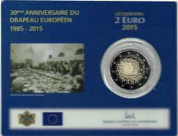 2 € Coincard 2015 Luxembourg Drapeau - Luxemburgo