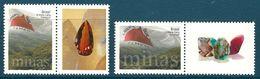 Brazil - 2012 Personalized Stamps Minerals, Gems, MNH** - Lot. 4953 - Minerali