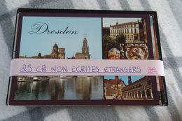 25 CPM Non Ecrites étrangère - Postcards
