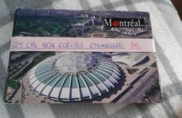 Lot De 25 CPM Etrangers Non Ecrites - Postcards