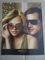 - ADVERTISING PUBBLICITA' OCCHIALI BREIL MILANO -- 2007 -  OTTIMO - Unclassified