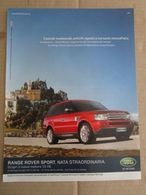 - ADVERTISING PUBBLICITA' RANGE ROVER SPORT TD V8  -- 2007 -  OTTIMO - Unclassified