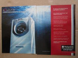 - ADVERTISING PUBBLICITA' LAVATRICE ARISTON -- 2007 -  OTTIMO - Unclassified