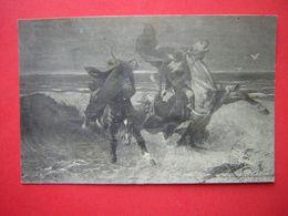 CPA MUSEE DE QUIMPER  LUMINAIS  GRADLON  VOYAGEE TIMBRE TIMBRE - Musées