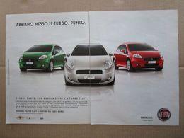 - ADVERTISING PUBBLICITA'  FIAT PUNTO TURBO -- 2007 -  OTTIMO - Unclassified